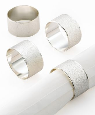 Excell Napkin Rings, Set of 4 Florentine
