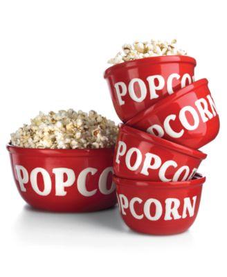 Espana Serveware, Popcorn Bowls 5 Piece Set