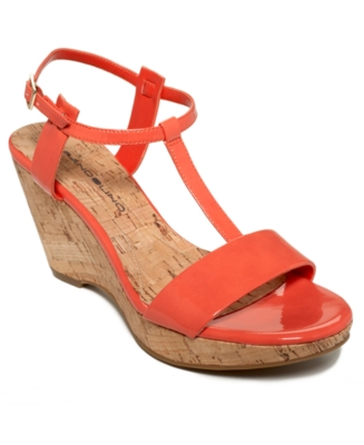 Bandolino Shoes, Nezra Wedge Sandals Women's Shoes