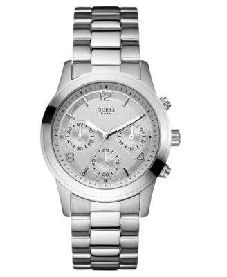 GUESS Watch, Women's Stainless Steel Bracelet U12605L1