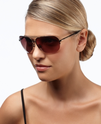 Nine West Sunglasses, Rimless Aviator