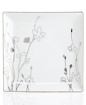 Charter Club Dinnerware, Grand Buffet Platinum Silhouette Square Salad Plate
