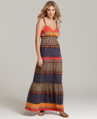 Maxi Dress on Maxi Dress   Tommy Hilfiger Dress  Pima Multi Maxi   Stylebistro