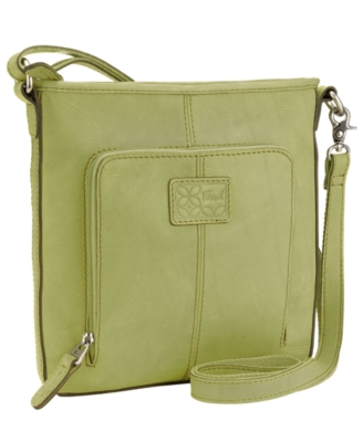 Fossil Handbag, Crosstown Flap Crossbody Bag