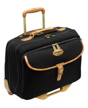 "London Fog Laptop Bag, 16"" Cambridge Rolling Business Case"