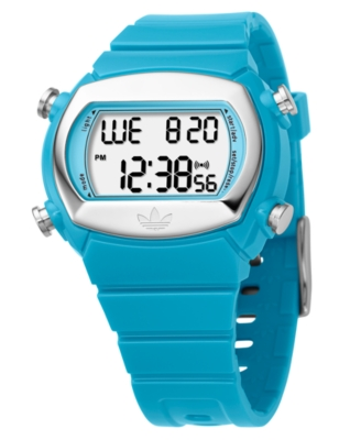 Adidas Watch, Women's Blue Polycarbonate Strap AD6052