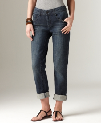 DKNY Jeans Crop Jeans, Soho Blue Dust Wash