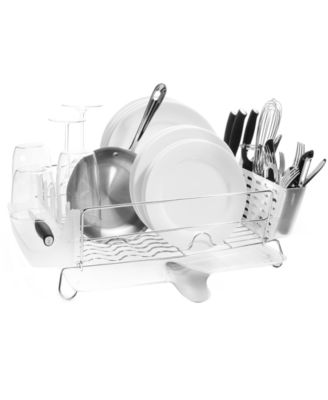 OXO Dish Rack, Folding Stainless Steel