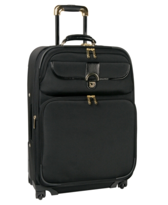 "Diane Von Furstenberg Suitcase, 21"" Jennifer Carry-On Spinner - Travel Bags"