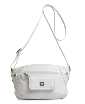 Giani Bernini Handbag, Pebble Leather Crossbody Bag