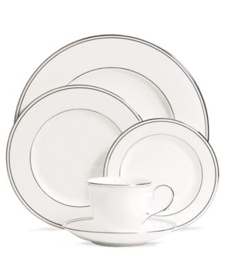 Lenox Dinnerware, Federal Platinum 5 Piece Place Setting