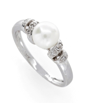 14k Gold Cultured Pearl Ring - Macy's