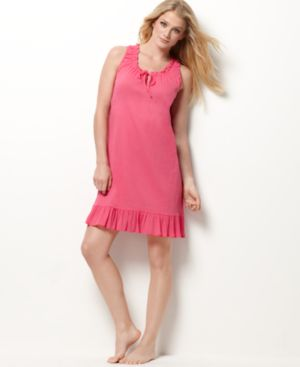 Jockey Chemise, Crinkle and Ruffle