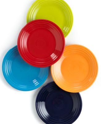 "Fiesta Dinnerware, 9"" Luncheon Plate"