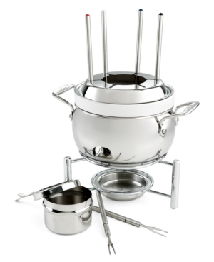 All Clad Fondue Set, Stainless Steel
