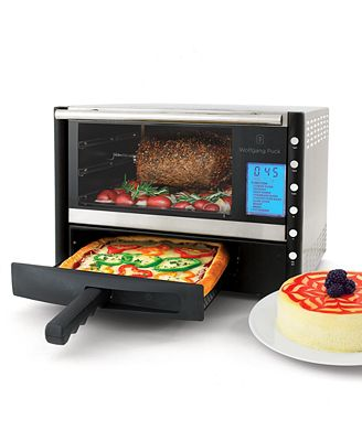 Wolfgang Puck Countertop Convection Oven : Wolfgang Puck WPDCORP20 Toaster Oven, Stainless Steel Convection