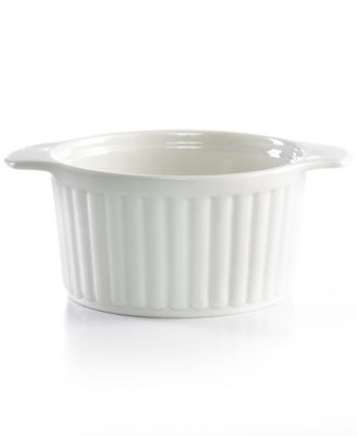 Martha Stewart Collection Whiteware French Onion Baker