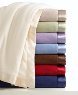 Charter Club Blanket, Fleece Full/Queen Bedding