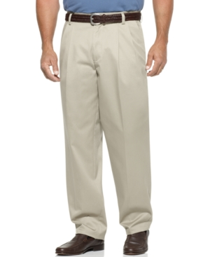 Dockers Big and Tall Pants, D3 Classic Fit Signature Khaki Pleated