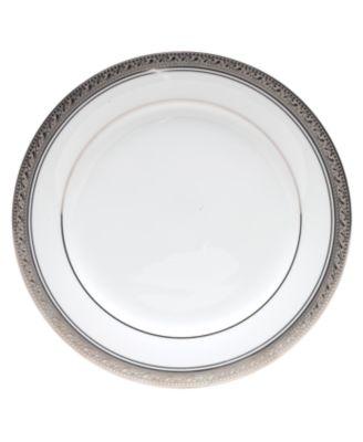 Noritake Dinnerware, Crestwood Platinum Salad Plate