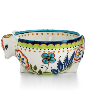 Tabletops Unlimited Dinnerware, Bocca Cow Candy Bowl
