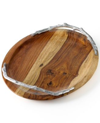 CLOSEOUT! Martha Stewart Collection Wood Serveware, Serving Tray
