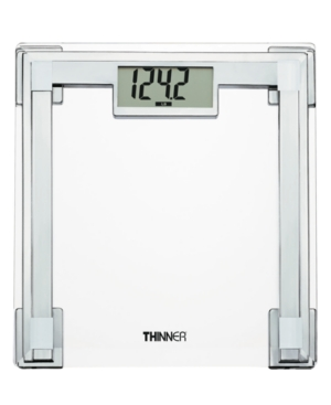 Thinner TH311 Glass and Chrome Digital Scale