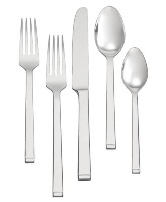 Vera Wang Wedgwood Flatware 18/10, Arden 45 Pc Flatware Set, Service for 8