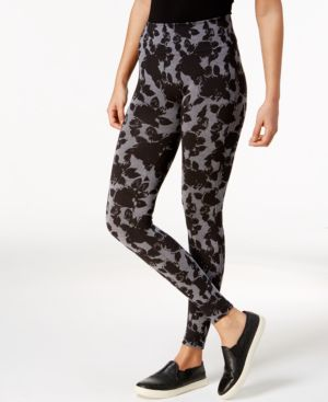 First Looks Floral-Print Leggings