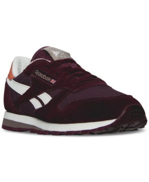 Reebok Men's Snipes Classic Leather Camp Out Casual Sneakers from Finish Line