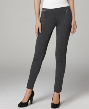 Style&co. Leggings, Zipper Pocket Stirrup