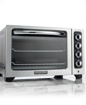 KitchenAid KCO222CS Toaster Oven, Architect Countertop 12""
