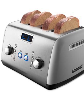 KitchenAid KMT423CS Architect Digital 4 Slice Toaster