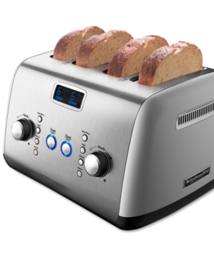 KitchenAid KMT423CS Toaster, Architect Digital 4 Slice