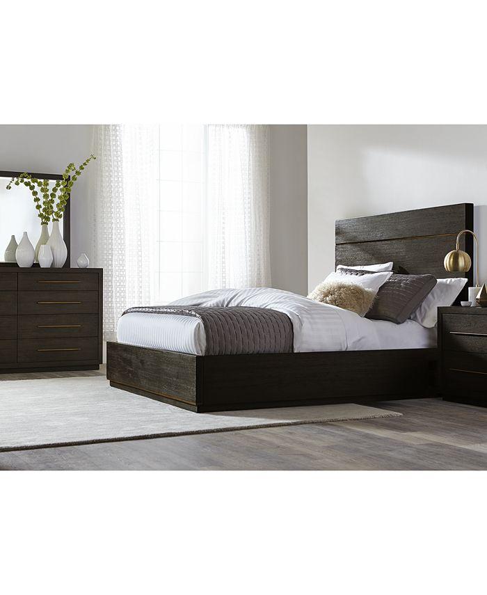 Furniture - Cambridge Storage Bedroom , 3-Pc. Set (Queen Bed, Dresser & Nightstand), Only at Macy's