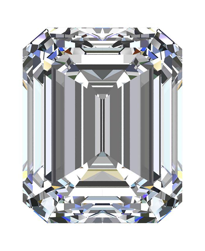 Macy's - GIA Certified Diamond Emerald (3/4 ct. t.w.)