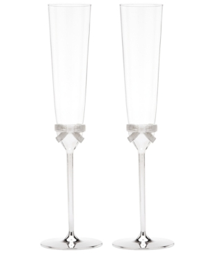 kate spade new york Flutes, Set of 2 Grace Avenue