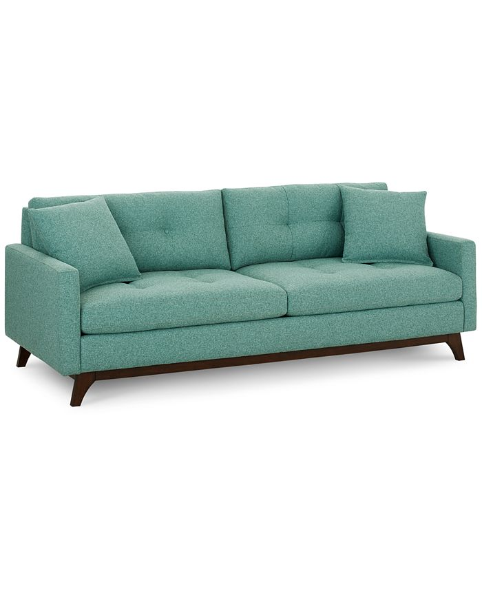 Furniture - Nari Tufted Back Sofa with 2 Toss Pillows, Only at Macy's