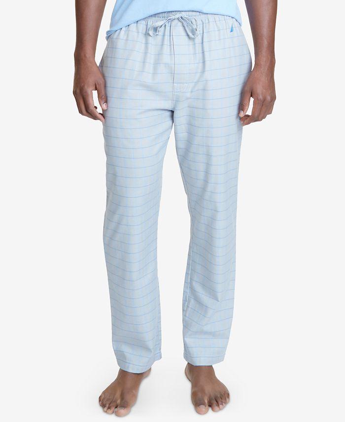 Nautica - Men's Herringbone Cotton Pajama Pants