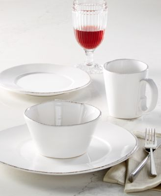 Lastra White Collection Deep Serving Bowl