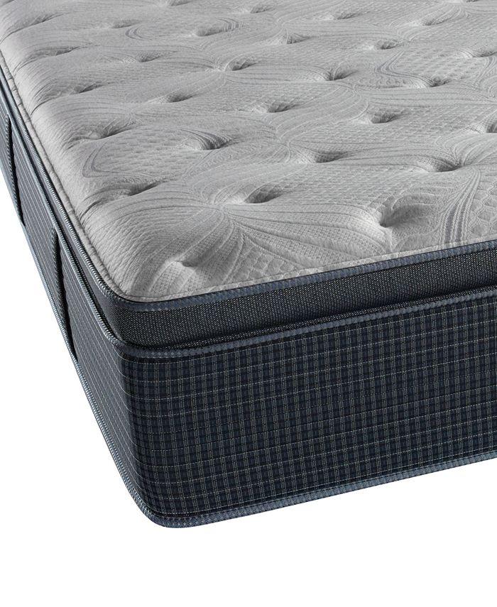 "Beautyrest - Recharge Plus Waterscape 15"" Luxury Firm Pillow Top Mattress- Twin XL"