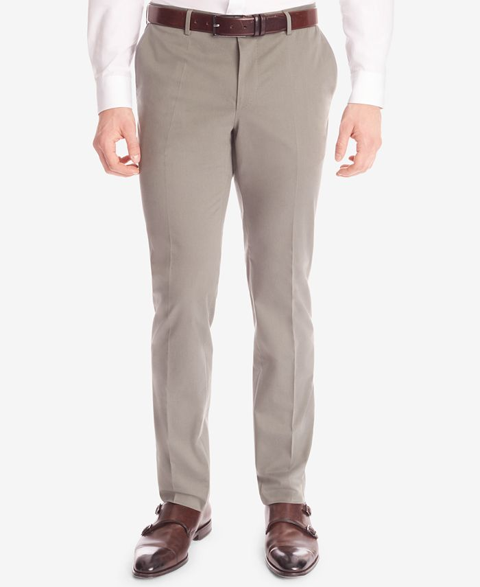 Hugo Boss - Men's Slim-Fit Stretch Trousers