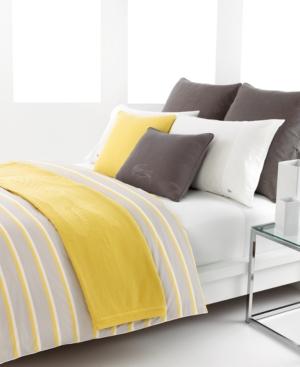 Lacoste Bedding, Dellen Twin Duvet Cover Set Bedding