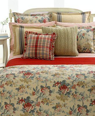 Lauren Ralph Lauren Bedding Lake House Collection