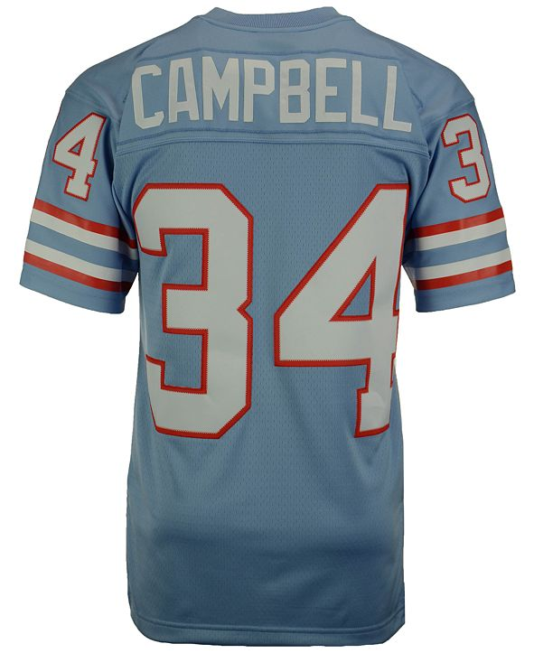 Mitchell & Ness Men's Earl Campbell Houston Oilers Replica Throwback Jersey