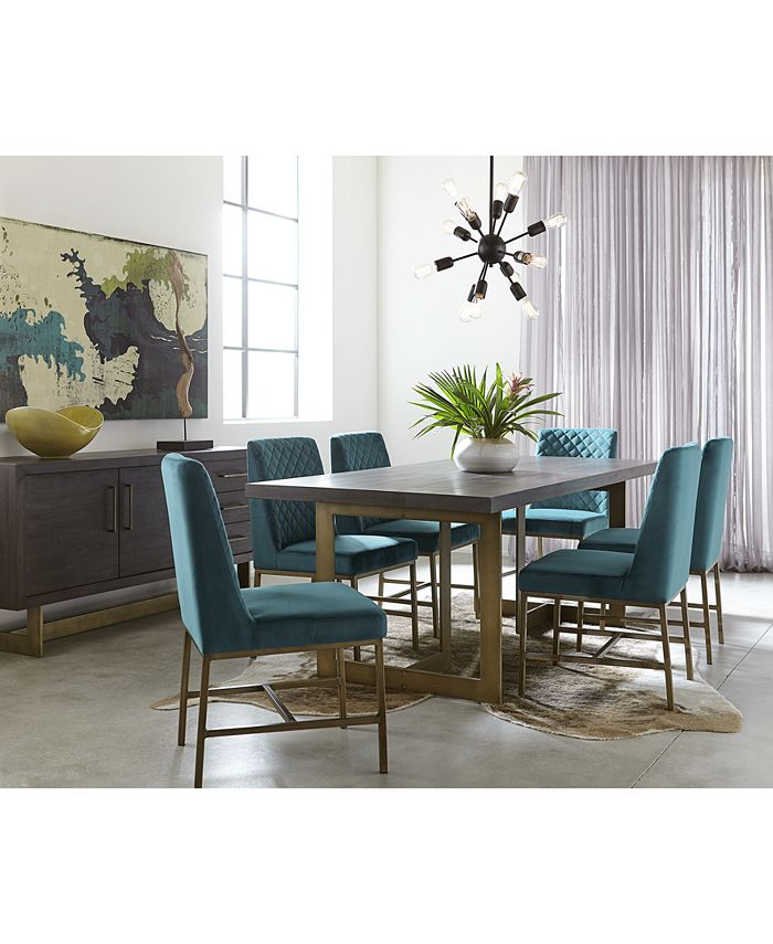 Furniture - Cambridge Dining  Set, 7-Pc. Set (Table & 6 Side Chairs), Only at Macy's