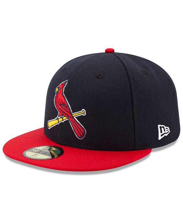 New Era Kids' St. Louis Cardinals Authentic Collection 59FIFTY Cap