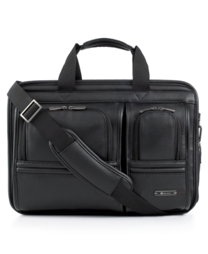 Delsey Laptop Case, Helium Deluxe Laptop Friendly Business Briefcase