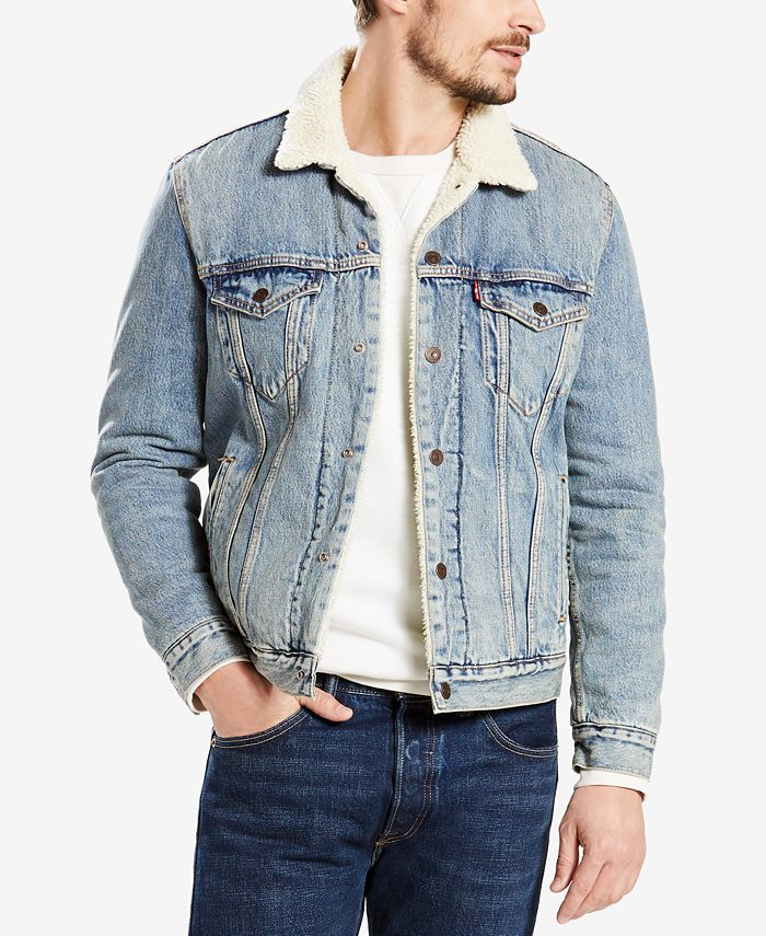 Levi's - Sherpa Denim Jacket, Duvall Rinse