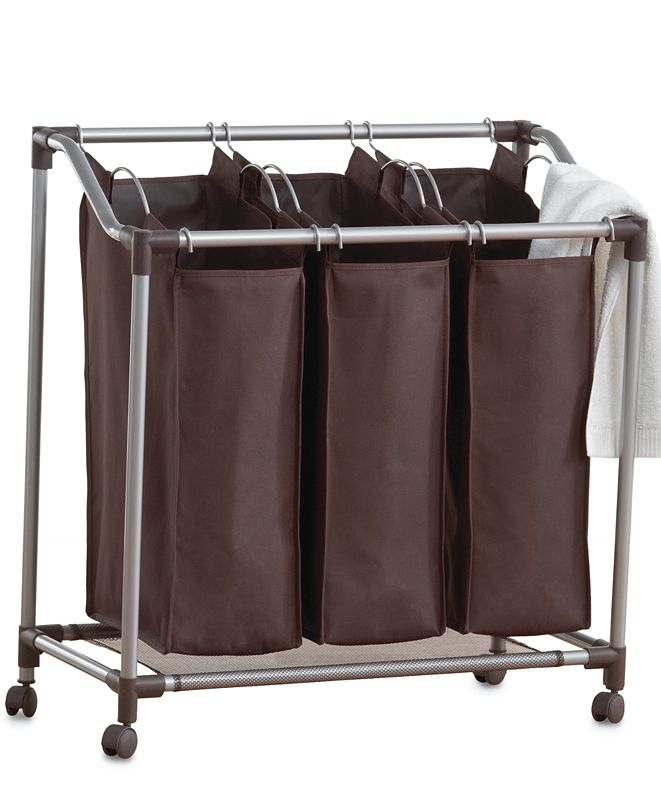 Neatfreak Hampers, Deluxe EVERFRESH® Laundry Triple Sorter